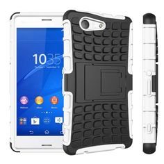 WolfRule For Sony Xperia Z3 Compact Case Shickproof TPU & Plastic Case For Sony Xperia Z3 Compact Cover Z3 Mini D5803 Funda >