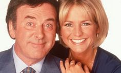 Terry Wogan and Ulrika Jonsson in 1998 Terry Wogan, Bbc News, Irish, Celebrities, Pictures, Life, Photos, Irish People, Celebs