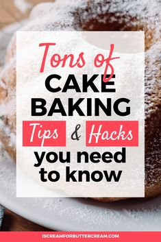 Find lots of cake baking tips and tricks for beginners plus simple baking hacks … - Cake Decorating Cupcake Ideen Baking Secrets, Baking Tips, Baking Recipes, Cake Recipes, Baking Hacks, Baking For Beginners, Cake Decorating For Beginners, Cake Decorating Techniques, Baking Cupcakes