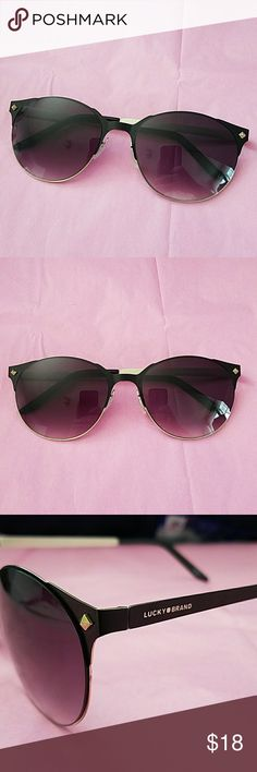 4e5b607b5517 Lucky Brand Sunglasses Barely worn, tiniest scratches on the lenses but  basically brand new.