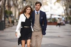 Olivia Palermo & Johannes Huebl are the Faces of Otto's Spring/Summer 2013 Collection | Sassi Sam Girlie