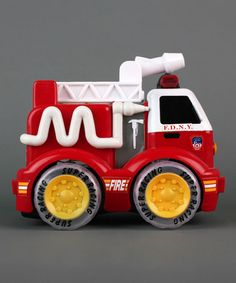This FDNY Radio Control Fire Truck Toy by Daron Worldwide Trading, Inc. is perfect! Race Fire, Toddler Girl, Baby Kids, Christmas Deals, Fire Trucks, Stocking Stuffers, Little Ones, Memory Foam, Kids Outfits