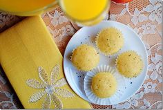 orange glazed poppy seed muffins - 4.1.14 - SOOO delicious!