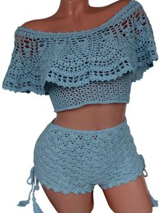 love crochet top