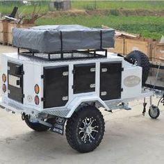 Small Camper Trailers, Camper Trailer For Sale, Trailer Diy, Off Road Trailer, Caravan Mover, Camper Caravan, Expedition Trailer, Overland Trailer, Off Road Camping