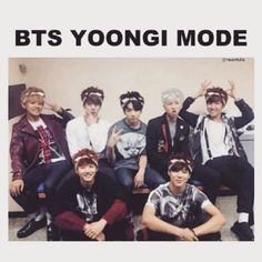 Yoongi mode ON