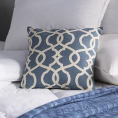 Brennan Damask Throw Pillow could use 4