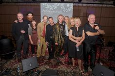 The Mekons Finale with host Peter Exley! Photography: courtesy of Michael Jackson