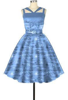 Retro 1950s Dress by Amber Middaugh