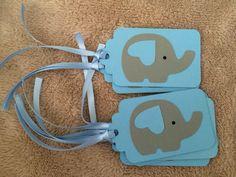 Photo (60) tags de elefantes by Denise Scraps