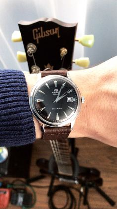 Orient Bambino and Gibson SGJ2014