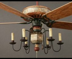 Garbers crafted primitive ceiling fans primitive pinterest primitive ceiling fans photo 7 aloadofball Images