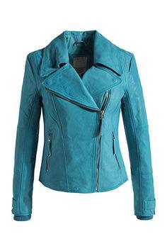 Biker-Jacke aus softem Lammleder - If only it wasn't so expensive!