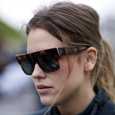 d9018942d72 ROYAL GIRL Designer Sunglasses Women Flat Top Sun glasses Acetate Frames