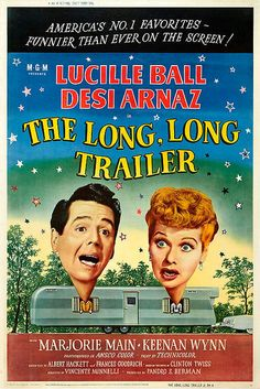 "Movie Poster for ""The Long, Long Trailer"""
