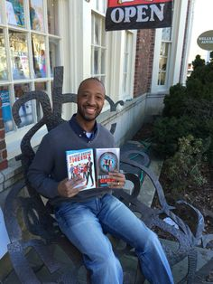 Varian Johnson, author of The Great Greene Heist and To Catch a Cheat