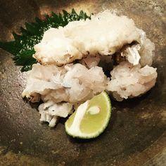 #sashimi#rare#hamo#white#kaiseki#kyoto#japan#yummy#yes by sausage_by_akino_ishikawa