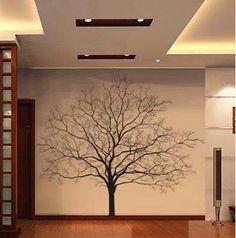 Large Tree Wall Decals | Big Tree Vinyl Wall Decal Nature Art Sticker T45 | eBay