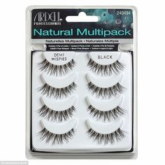 Layering it on: Ardell's Natural Demi Wispies are Mario's favorite drugstore false eyelashes, which he says can be double-stacked