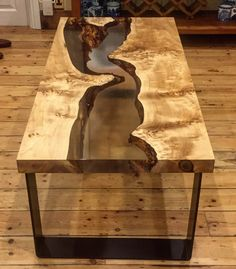 This is a sample collection of some of the epoxy resin river tables that we have made over the last few years. We try to use wood with as much character as possible that allows us to let it shine Live Edge Furniture, Furniture Design, Outdoor Furniture, Outdoor Decor, Interior Design Color Schemes, Live Edge Table, Resin Table, Wood Slab, Resin Crafts
