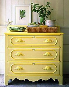 Beautifully restored, I love the soft yellow