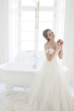 20 of the Sweetest Off-the-Shoulder Wedding Dresses - MODwedding