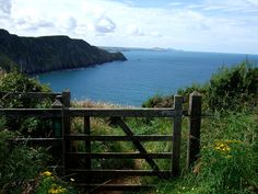 Pembrokeshire coastal path near Strumble Head University Of Wales, Cornish Coast, Visit Wales, Relaxing Holidays, St Kilda, Cymru, England And Scotland, Red Dragon, Lake District