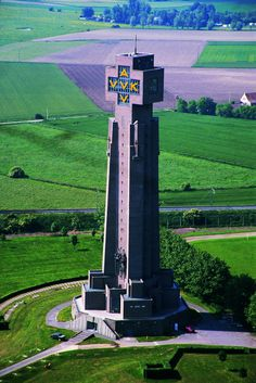 Diksmuide, de IJzertoren - het Museum aan de IJzer.