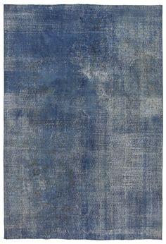 Indigo overdyed Muster beleben beliebte Vintage türkische Teppiche in eine wirklich fabelhafte Bereich Teppich. BITTE BEACHTEN SIE! Wir nehmen alle