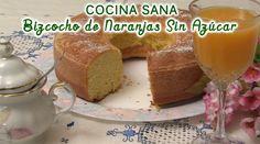 Bizcocho - Torta de  Naranjas Sin Azucar, apto para Diabéticos