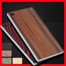 Simple For Sony Xperia Z5 Compact Z5 Mini back stick / wood real wood film after film for Sony Xperia Z5 mini case(China (Mainland))