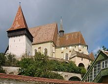 Fortified church of Biertan, a UNESCO World Heritage Site.