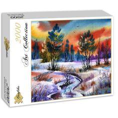 Winter Water - 2000 Teile - GRAFIKA Puzzle online kaufen