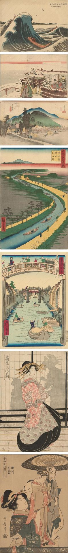 Japanese Prints from the and centuries: Katsushika Hokusai, Katsukawa Shunkō Ii, Utagawa Hirosige I, Utagawa . Art Japonais, Korean Art, Japanese Painting, Japanese Prints, Japan Art, Orient, Gravure, Woodblock Print, Chinese Art