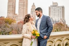 Timelessly romantic engagement inspiration at the Brooklyn Botanic Garden in New York.