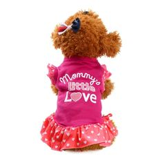 2017 New Pet Dress,Elevin(TM)Spring Summer Small Puppy Dog Cat Sleeveless Cute Princess Printed Short Skirt Dress Vest Pet Supplies Clothes Apparel Outwear Costume ** Want to know more, click on the image. (This is an affiliate link and I receive a commission for the sales) #CatCare