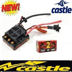 Speed Controllers 74312: New Castle Creations 1 8 Mm2 Mamba Monster 2 Waterproof Wp Esc Speed Control -> BUY IT NOW ONLY: $104.99 on eBay!