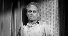 """Boo Radley...Love this scene in the movie when Jeane Louise notices Boo behind the door and says """"Hey Boo."""""""