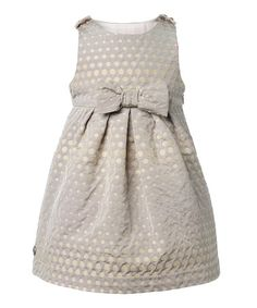 Gold Sita Dress - Infant, Toddler & Girls by Girls' Blow-Out on #zulily today