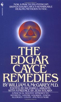 Book Cover The Edgar Cayce Remedies