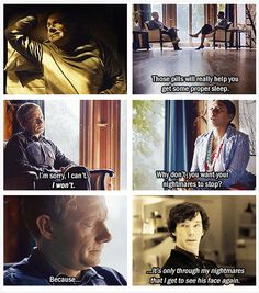 *sniffle* Tears... Do you realize that when series 3 comes out, watching The Reichenbach Fall will never be the same again? I was just realizing this...I'll know exactly what happens. Part of the magical pain will be gone. Not sure how I feel about that. Hm.