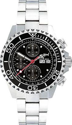 Chris Benz Deep 500m Chronograph CB-500A-C1-MB Herren Aut...