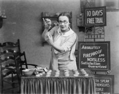We're not quite sure why dentures would need to be fireproof... new selling feature. Dentistry Throwback Tuesday - Dental History