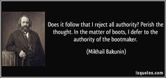 Bakunin Quote