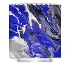 The Rivers Of Babylon Fragment. Abstract Fluid Acrylic Painting Shower Curtain for Sale by Jenny Rainbow Artwork For Home, Home Art, Painting Shower, Curtains With Rings, Curtains For Sale, Fluid Acrylics, Abstract Pattern, Shower Curtains, Rivers