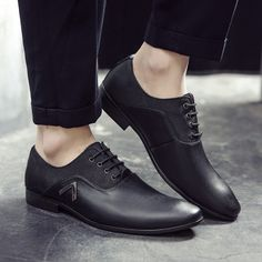 b0af1f925 Big Size Hot Sale Mens Casual Shoes Business Dress Leather Shoes