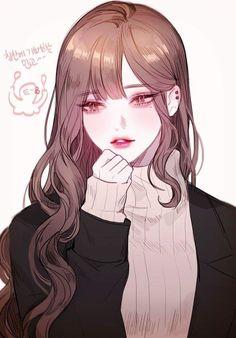 ( °ω °) manga girl, manga anime, anime art girl, anime Manga Girl, Chica Anime Manga, Anime Art Girl, Anime Girls, Pretty Anime Girl, Beautiful Anime Girl, Stil Inspiration, Girl With Brown Hair, Anime Girl Brown Hair