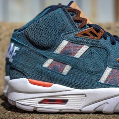 Nike Air Trainer SC High: Denim