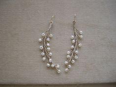 ogiso rev fiber & leather earrings