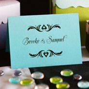 Thank You note from the Signature Collection at www.FavorsYouKeep.com. This design is also available on your #weddingwelcomebags #weddingcocktailnapkins #personalizedkoozies